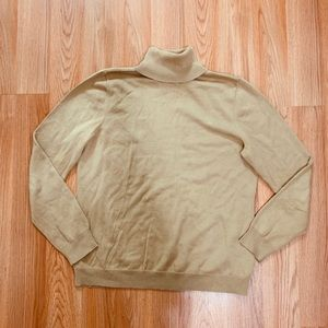 Ralph Lauren tan turtleneck